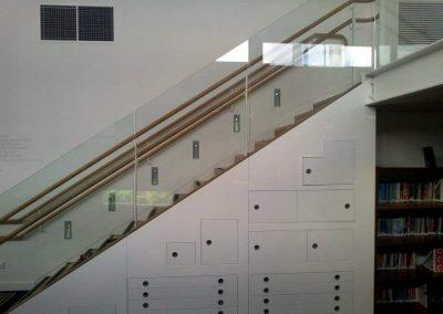 Commercial Stair lighting - commercial electrical jobs Windsor