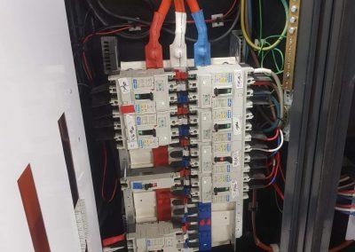 Distribution board 1 - commercial electrical jobs Greenslopes