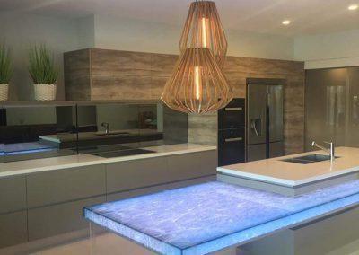 banksia kitchen 02 - domestic electrical jobs Ascot