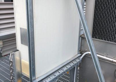 cable tray and vsd enclosure mounted - commercial electrical jobs Ascot